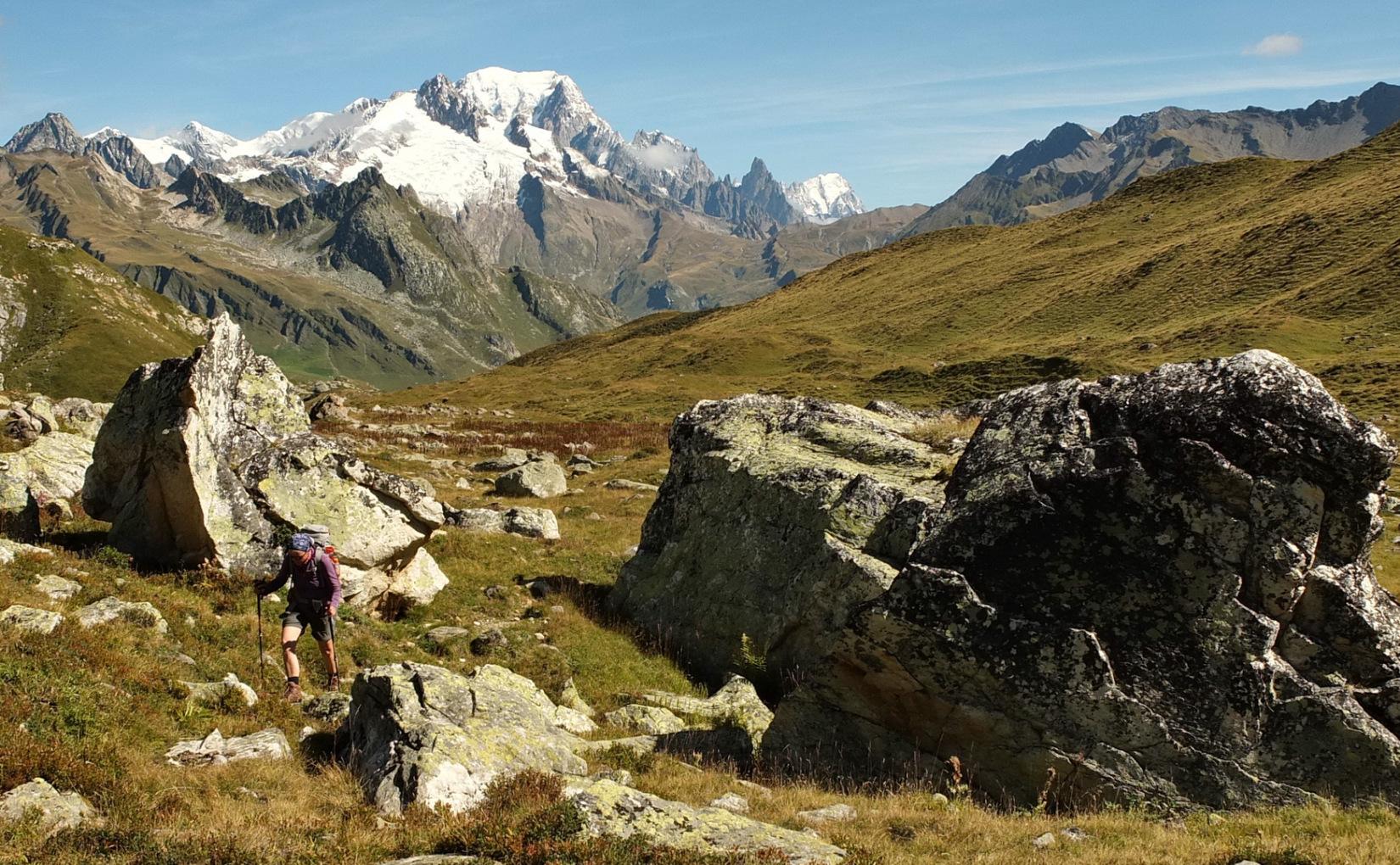 MT 10.8 Les Chapieux > Refuge de Presset (Savoyen)